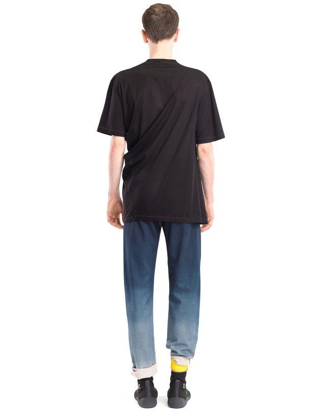 "LANVIN ツイステッド ""UTOPIA"" Tシャツ ポロ&Tシャツ U d"