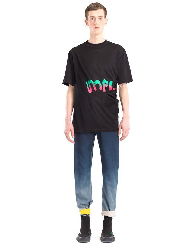 """LANVIN ツイステッド """"UTOPIA"""" Tシャツ ポロ&Tシャツ U r"""
