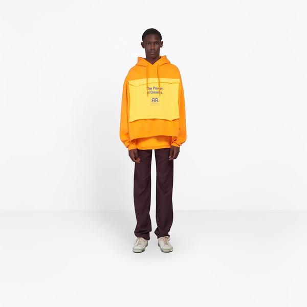 balenciaga hoodie mens grey