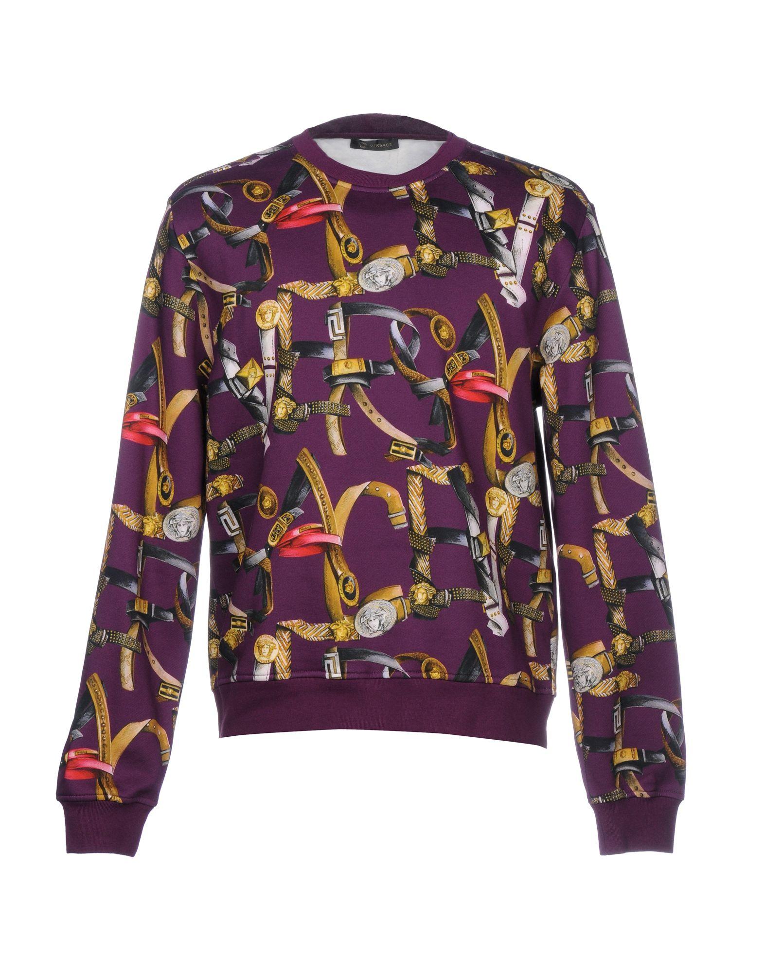VERSACE Толстовка футболка versace разноцветный