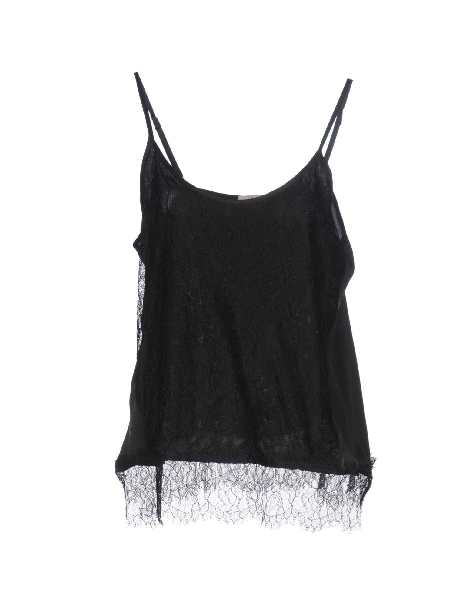 CLU Топ без рукавов y clu блуза для девочки yb8308 разноцветный y clu