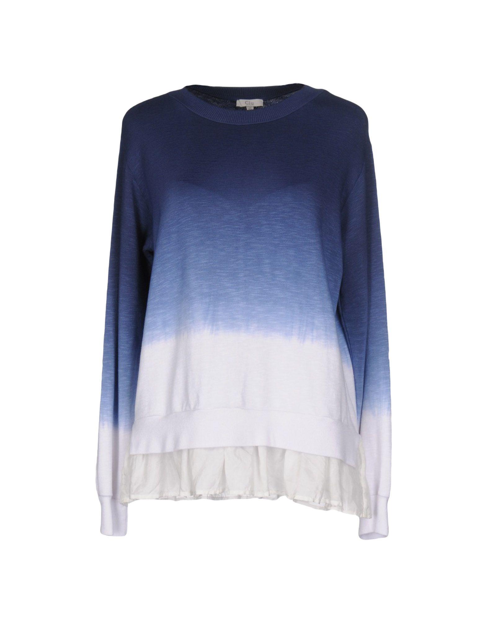 CLU Толстовка y clu блуза для девочки yb8308 разноцветный y clu