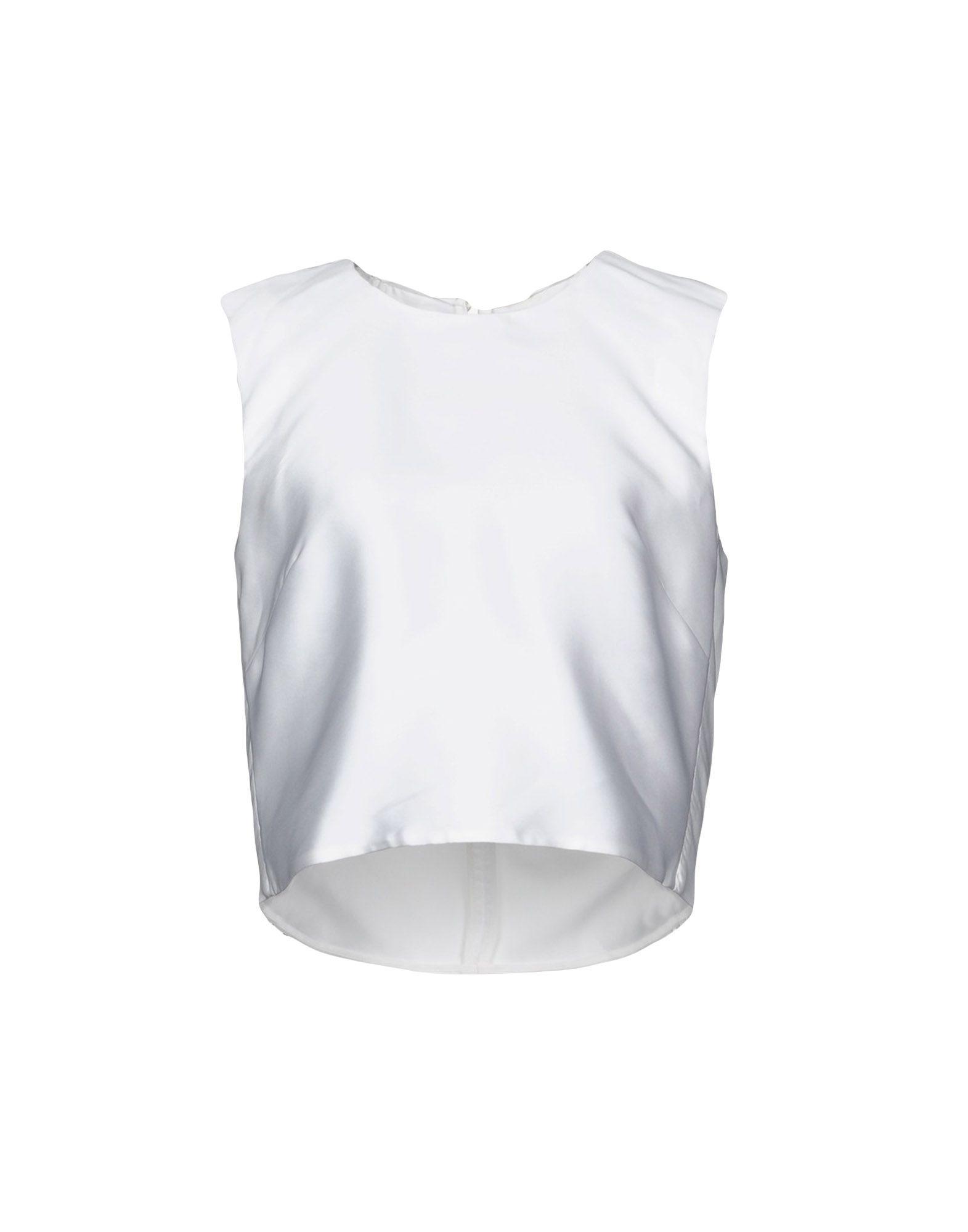 ADAM LIPPES Топ без рукавов betsy adam new lt grey sequin bottom blouson dress 8 msrp $179 00