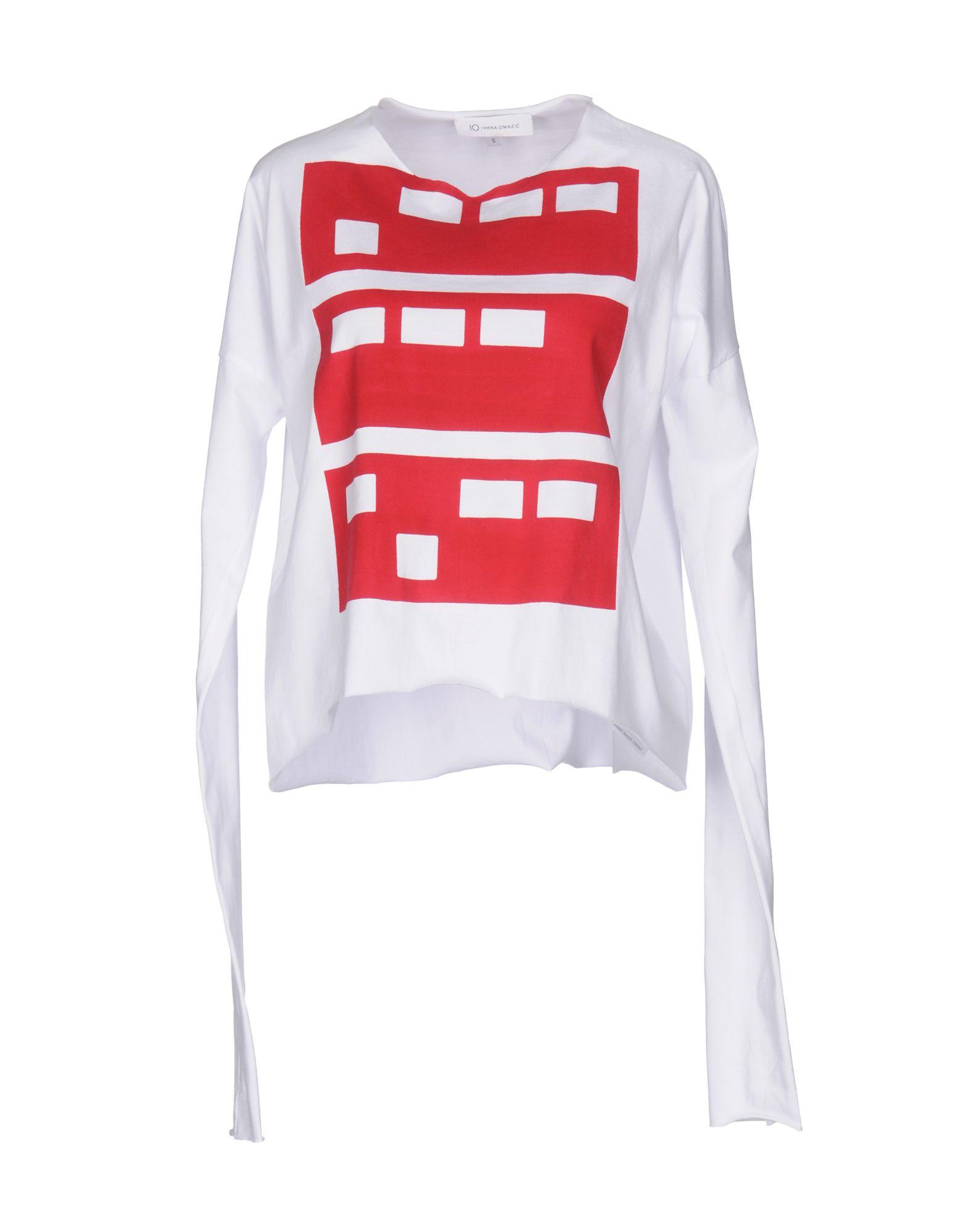 IO IVANA OMAZIC T-Shirts in White