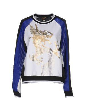 ROBERTO CAVALLI GYM Damen Sweatshirt Farbe Weiß Größe 4