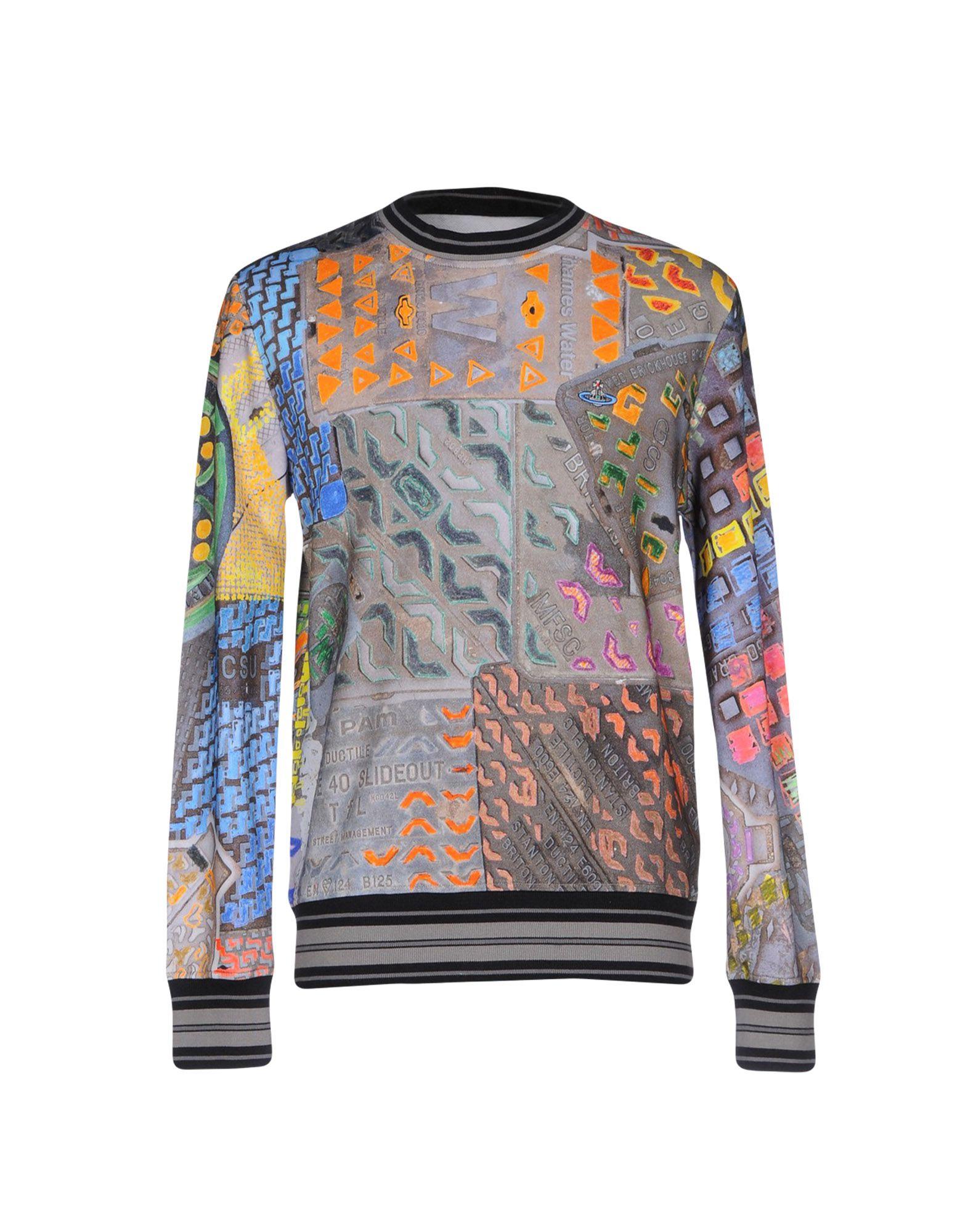 VIVIENNE WESTWOOD MAN Herren Sweatshirt Farbe Grau Größe 6