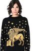 ALBERTA FERRETTI Blue sweater with winged lion Sweater D a