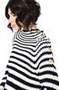 ALBERTA FERRETTI Sweater with horizontal stripes Jumper D a