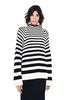 ALBERTA FERRETTI Sweater with horizontal stripes Jumper D r