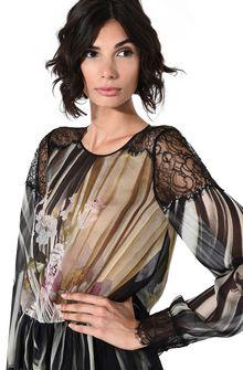 ALBERTA FERRETTI Floral motif blouse Blouse D a