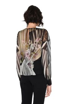 ALBERTA FERRETTI Floral motif blouse Blouse D d