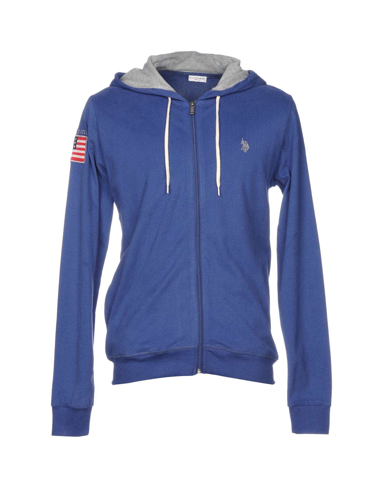 《送料無料》U.S.POLO ASSN. メンズ スウェットシャツ パステルブルー XXL コットン 100%