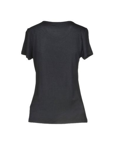 VERSACE JEANS Damen T-shirts Schwarz Größe M 95% Viskose 5% Elastan