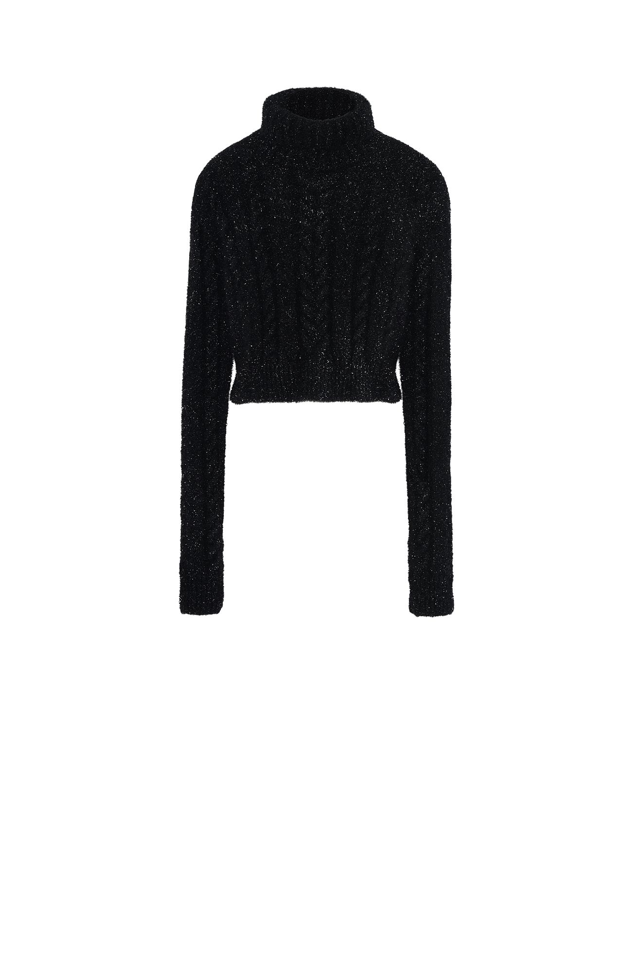 Sophisticated cable sweater