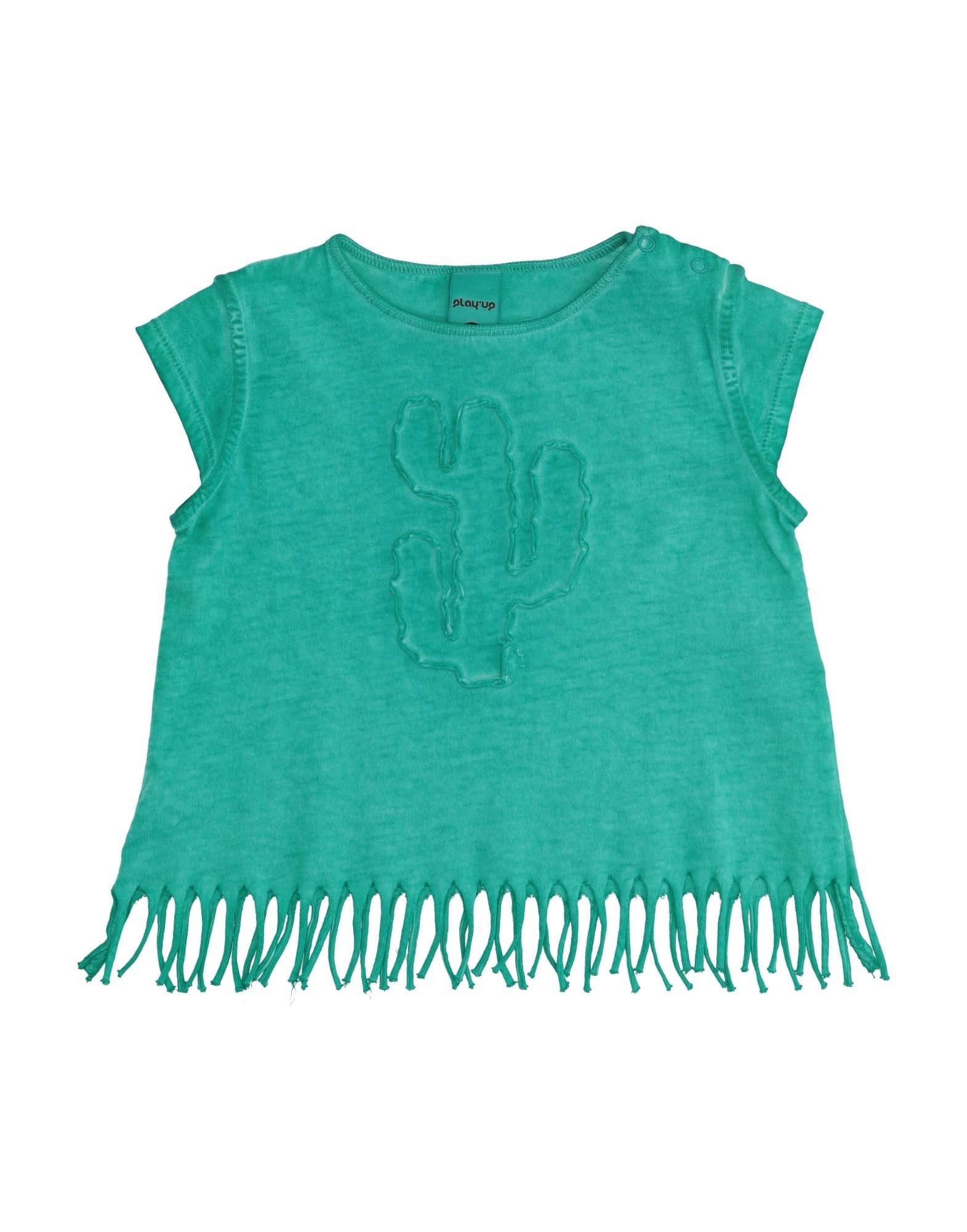 Play Up Kids' T-shirts In Green
