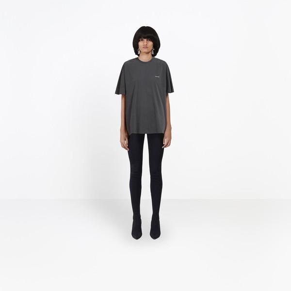 BALENCIAGA JERSEY Woman Coccon Tee-shirt Balenciaga® g