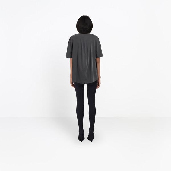 BALENCIAGA JERSEY Woman Coccon Tee-shirt Balenciaga® h