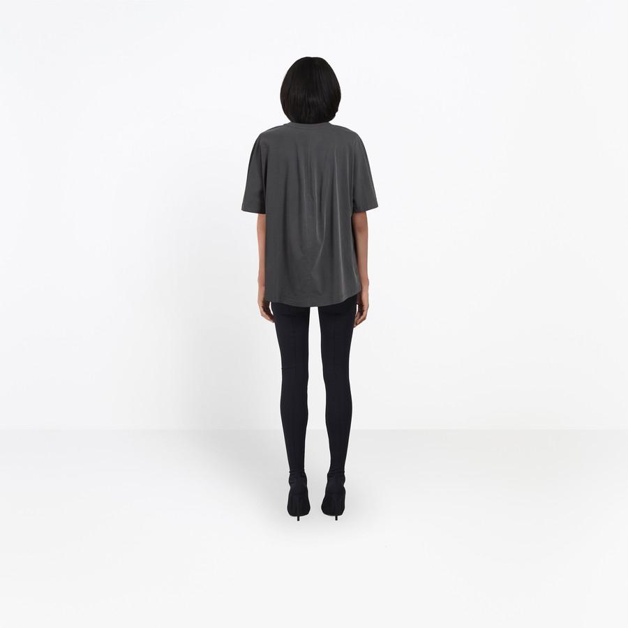 BALENCIAGA Coccon Tee-shirt Balenciaga® JERSEY Woman d