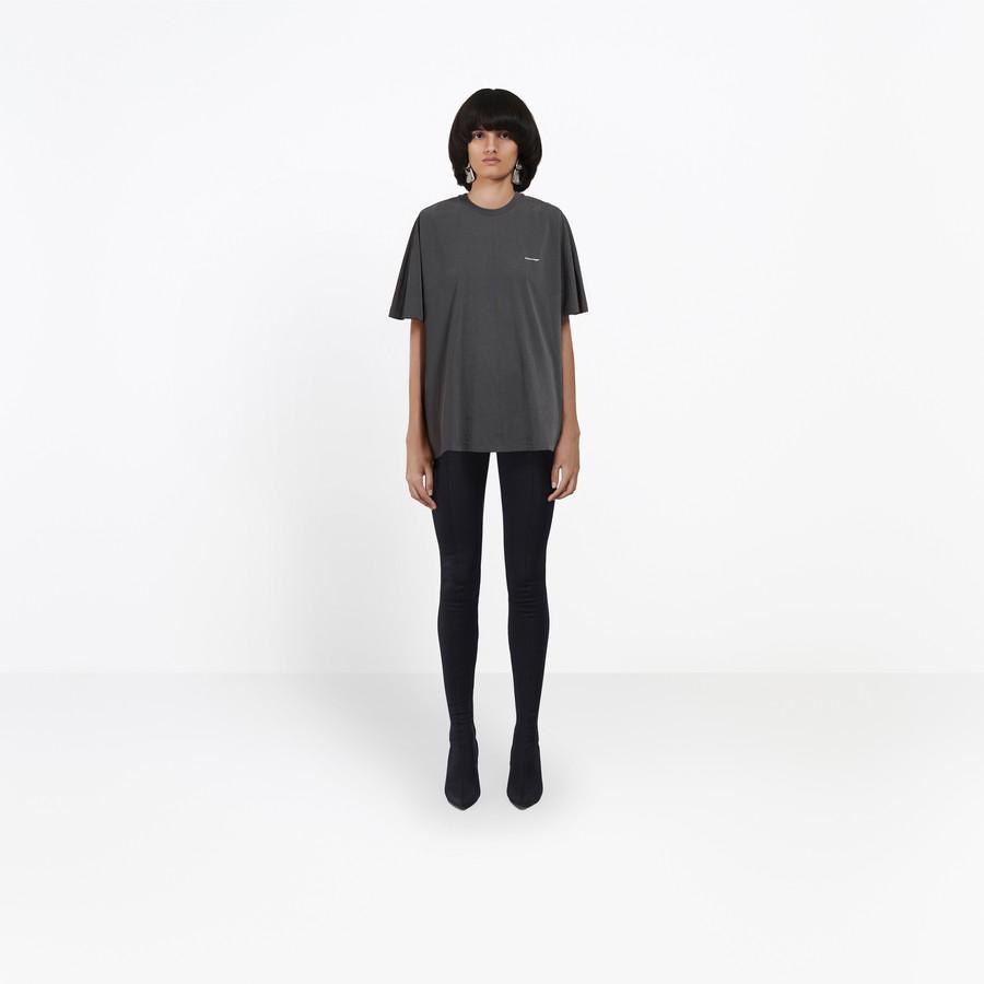 BALENCIAGA Coccon Tee-shirt Balenciaga® JERSEY Woman f