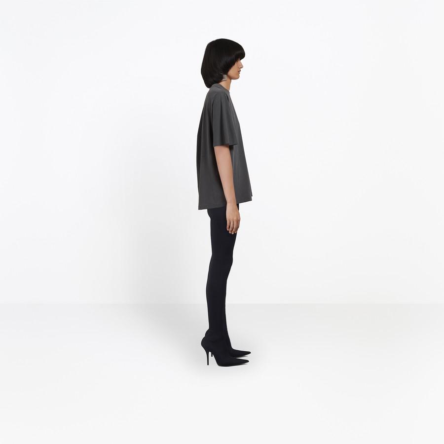 BALENCIAGA Coccon Tee-shirt Balenciaga® JERSEY Woman i