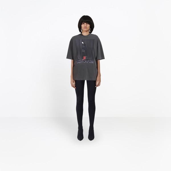 BALENCIAGA JERSEY Woman Oversize Photoshoot Tee-Shirt g