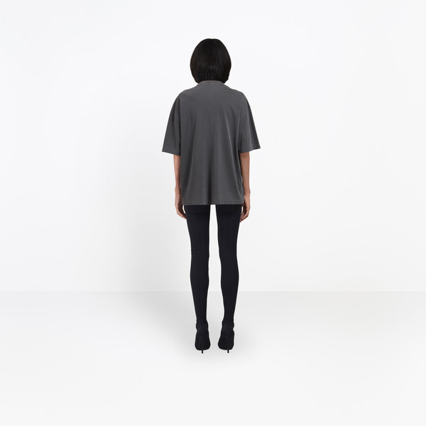 BALENCIAGA JERSEY Woman Oversize Photoshoot Tee-Shirt h