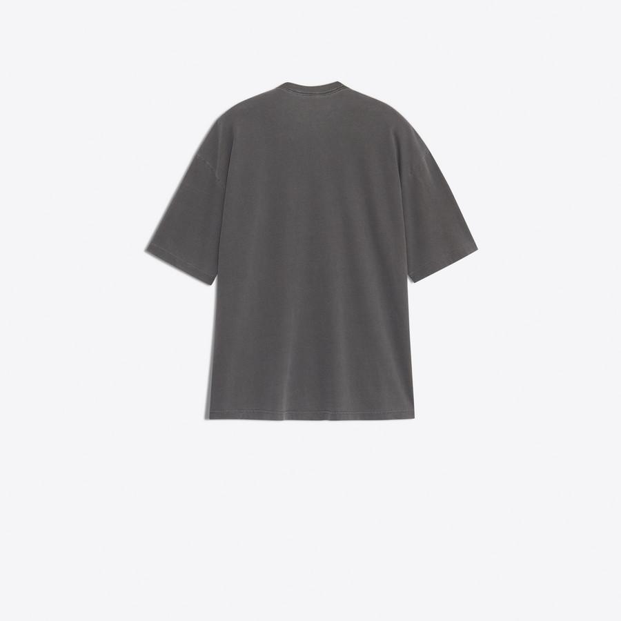 BALENCIAGA Oversize Photoshoot Tee-Shirt JERSEY Woman d