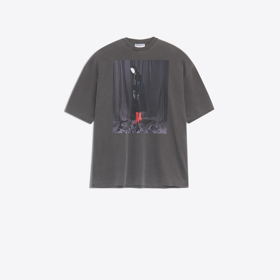 BALENCIAGA Oversize Photoshoot Tee-Shirt JERSEY Woman f