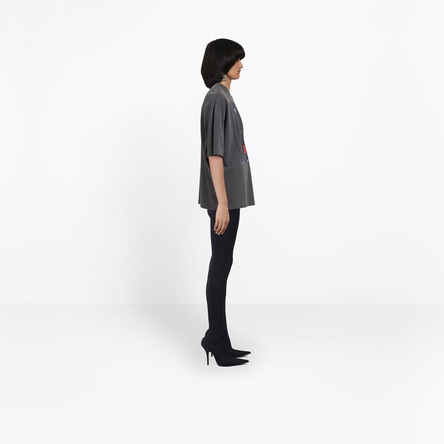 BALENCIAGA Oversize Photoshoot Tee-Shirt JERSEY Woman i