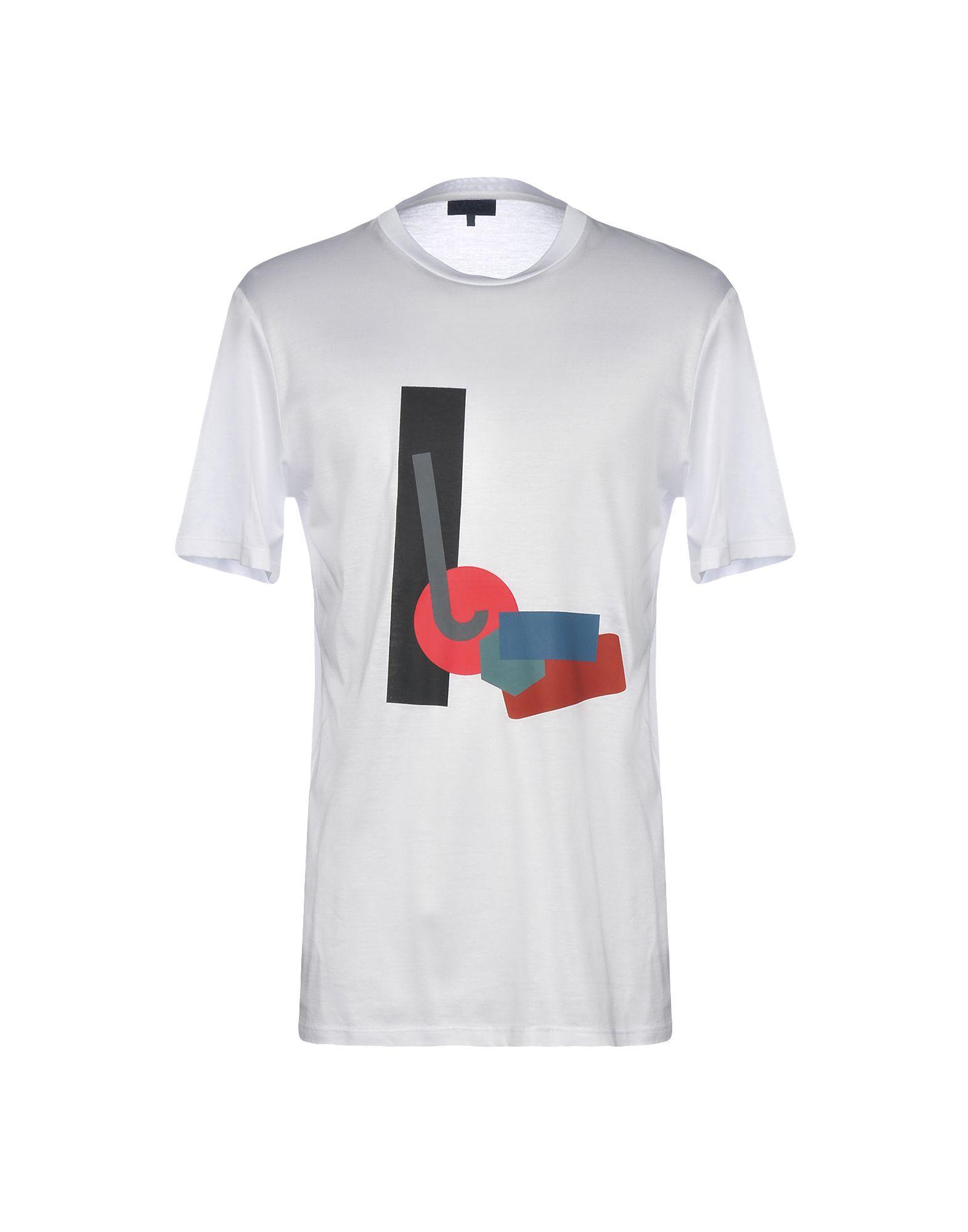 《送料無料》LANVIN メンズ T シャツ ホワイト M 100% コットン