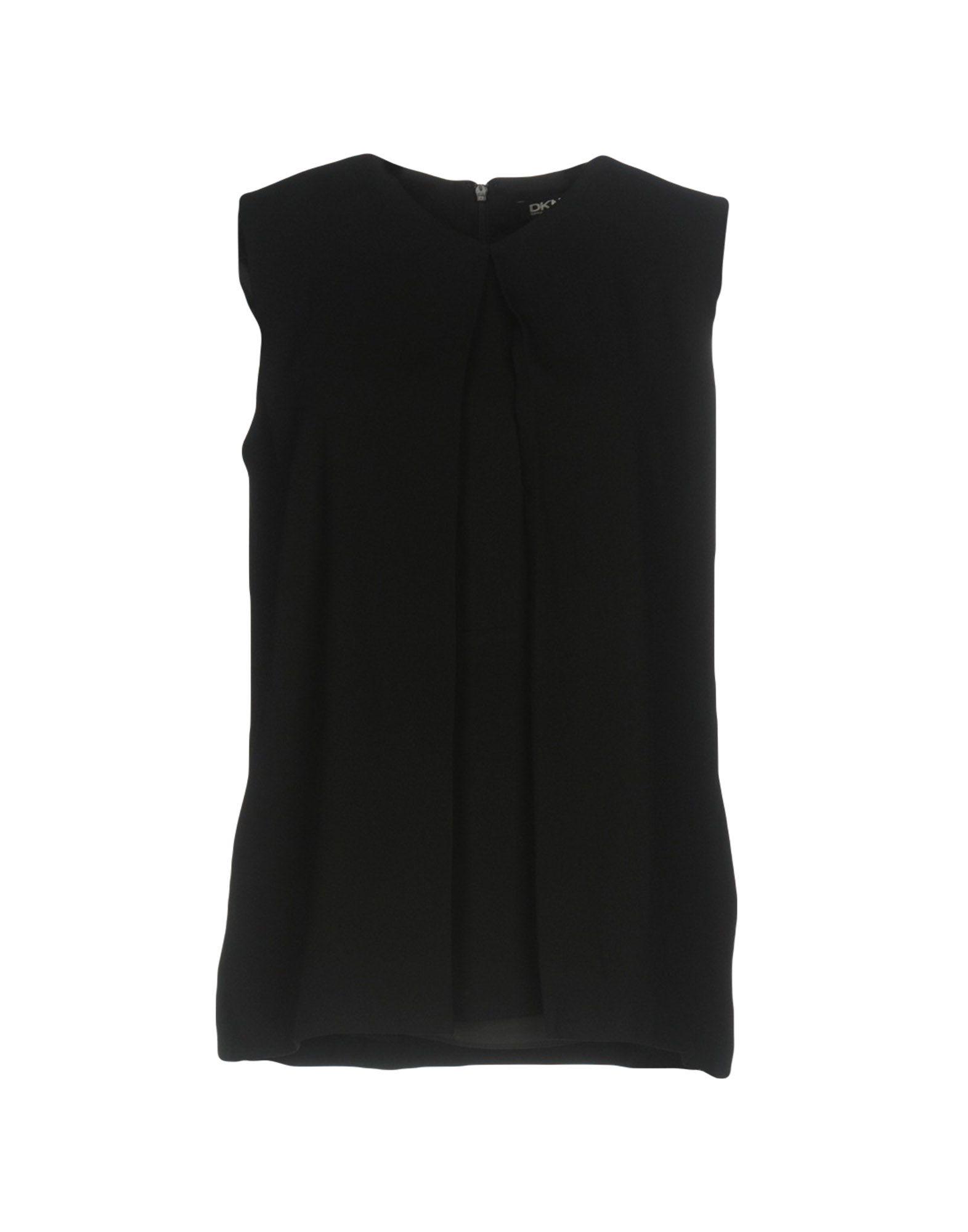 Фото DKNY Топ без рукавов. Купить с доставкой