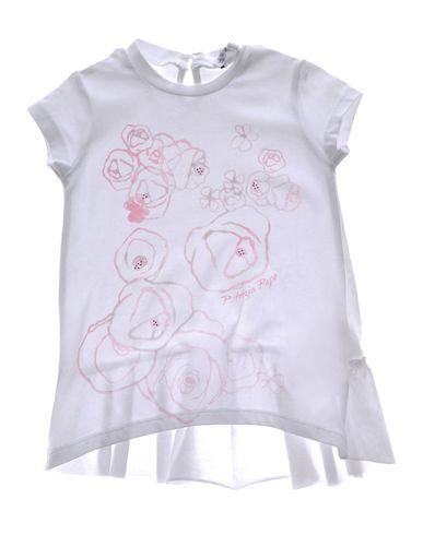 PATRIZIA PEPE Baby Kleid Weiß Größe 9 92% Baumwolle 8% Elastan