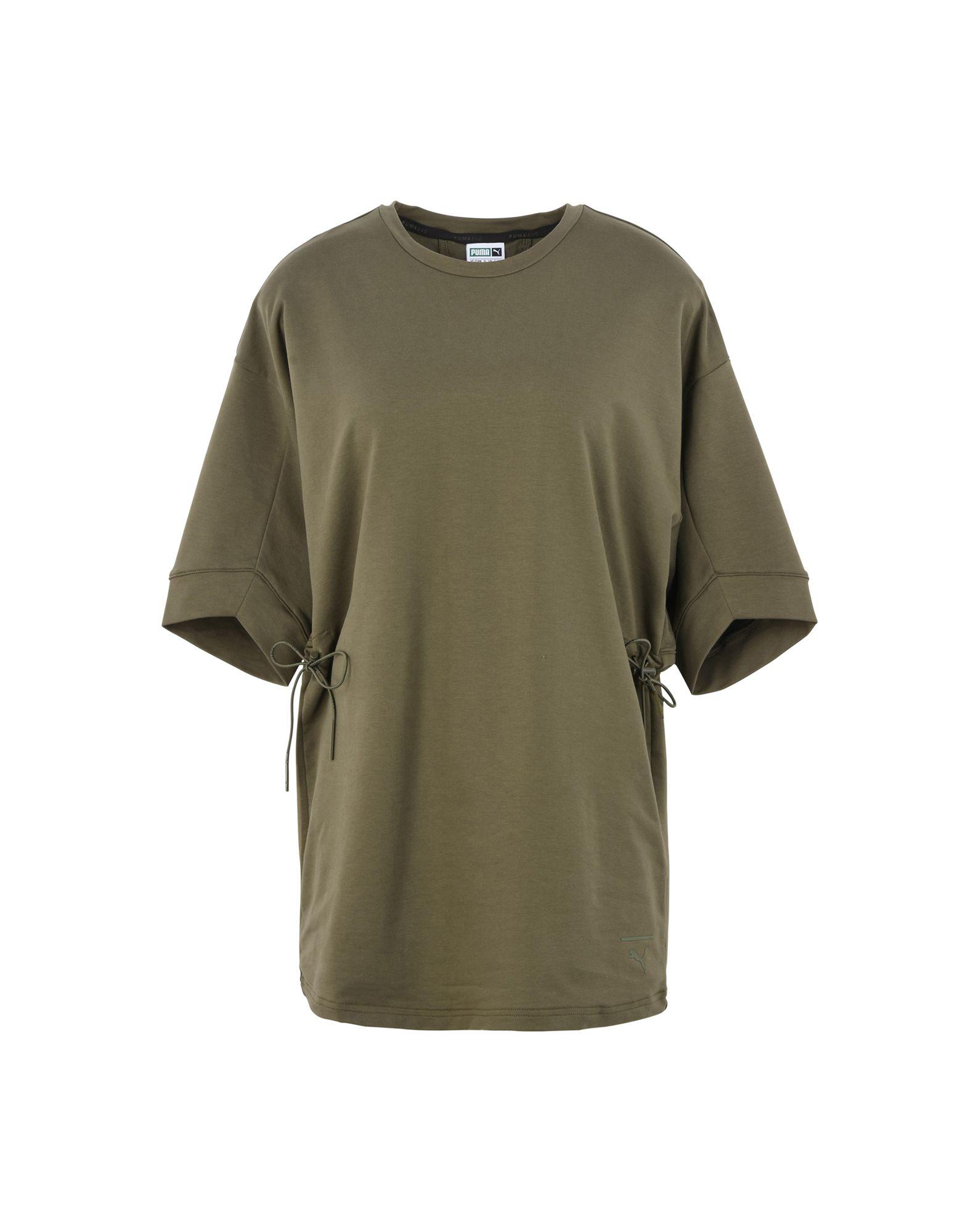 PUMA Damen Sweatshirt3 grün
