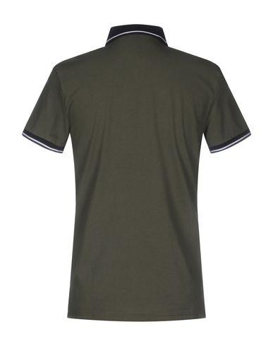 Фото 2 - Мужское поло  цвет зеленый-милитари
