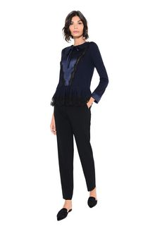 ALBERTA FERRETTI GEOMETRIC TOP Sweater Woman f