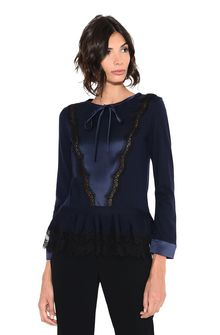 ALBERTA FERRETTI GEOMETRIC TOP Sweater Woman r
