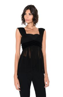 ALBERTA FERRETTI ROMANTIC TOP TOPWEAR Woman r