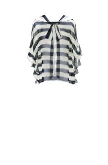 ALBERTA FERRETTI Striped blouse Blouse Woman e