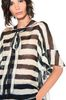 ALBERTA FERRETTI Striped blouse Blouse Woman a