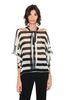 ALBERTA FERRETTI Striped blouse Blouse Woman r