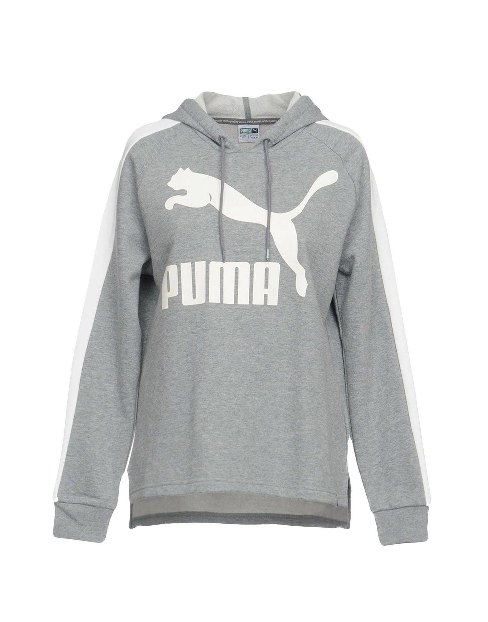 PUMA Damen Sweatshirt2 grau
