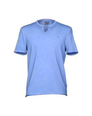 Купить Женскую футболку GRAN SASSO лазурного цвета