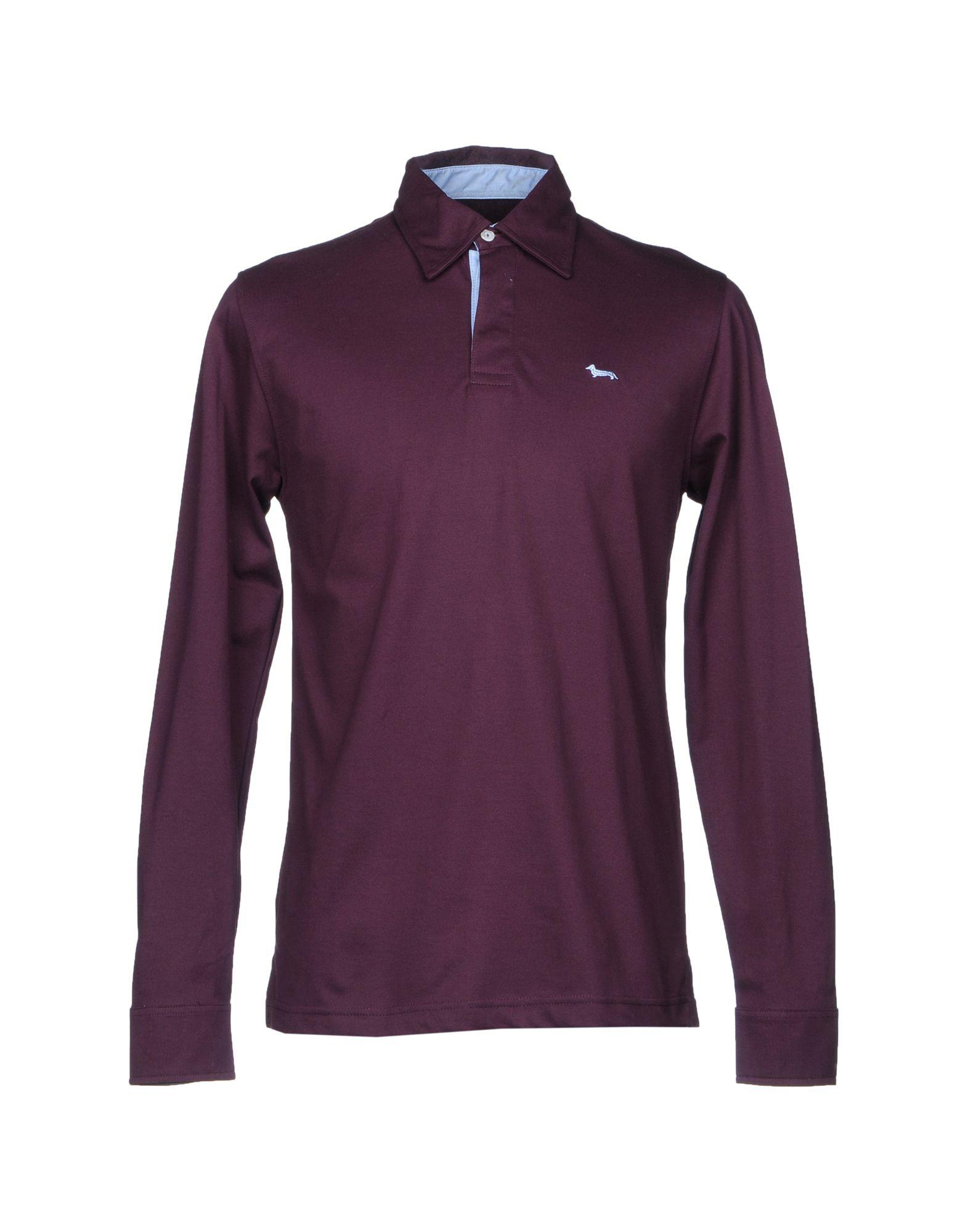 HARMONT&BLAINE Herren Poloshirt Farbe Pflaume Größe 9 jetztbilligerkaufen