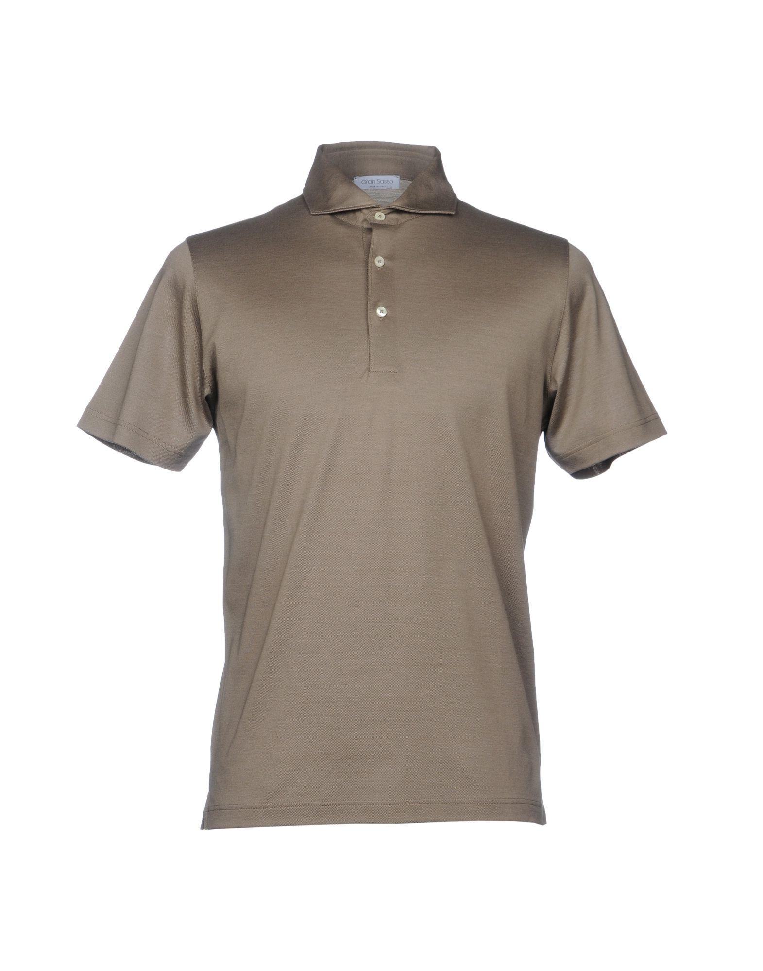GRAN SASSO Herren Poloshirt Farbe Khaki Größe 4 jetztbilligerkaufen