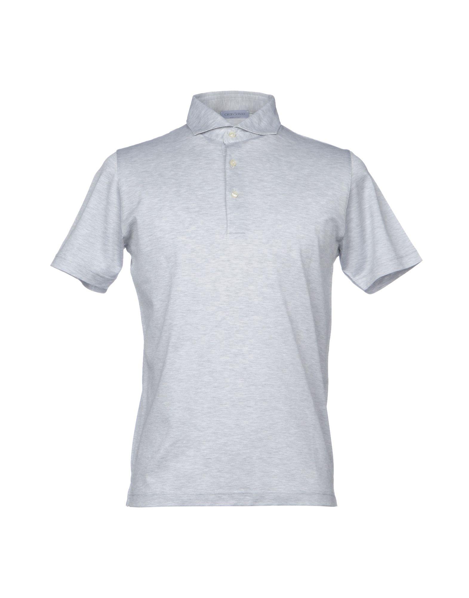 GRAN SASSO Herren Poloshirt Farbe Hellgrau Größe 6 jetztbilligerkaufen