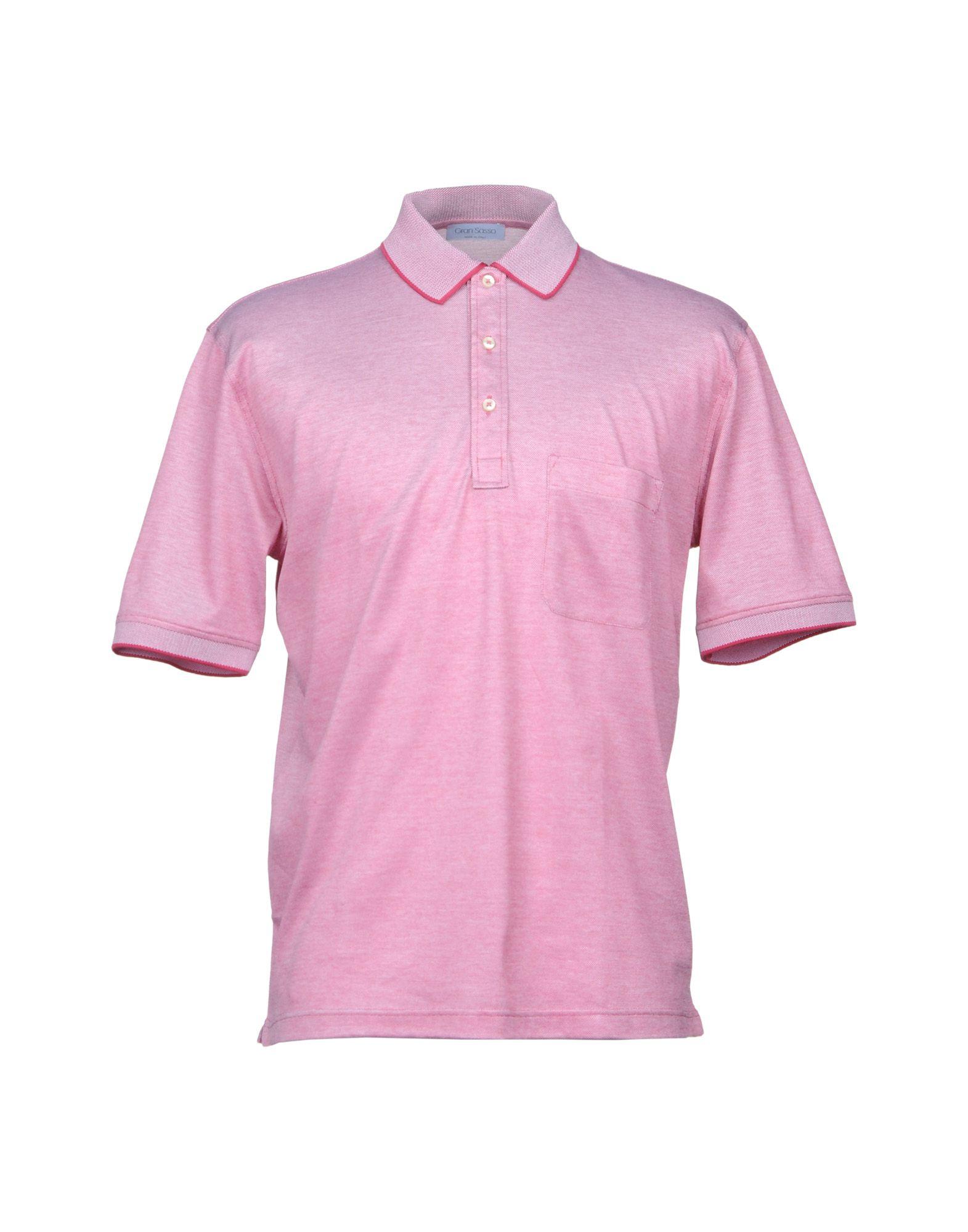 GRAN SASSO Herren Poloshirt Farbe Rot Größe 9 jetztbilligerkaufen