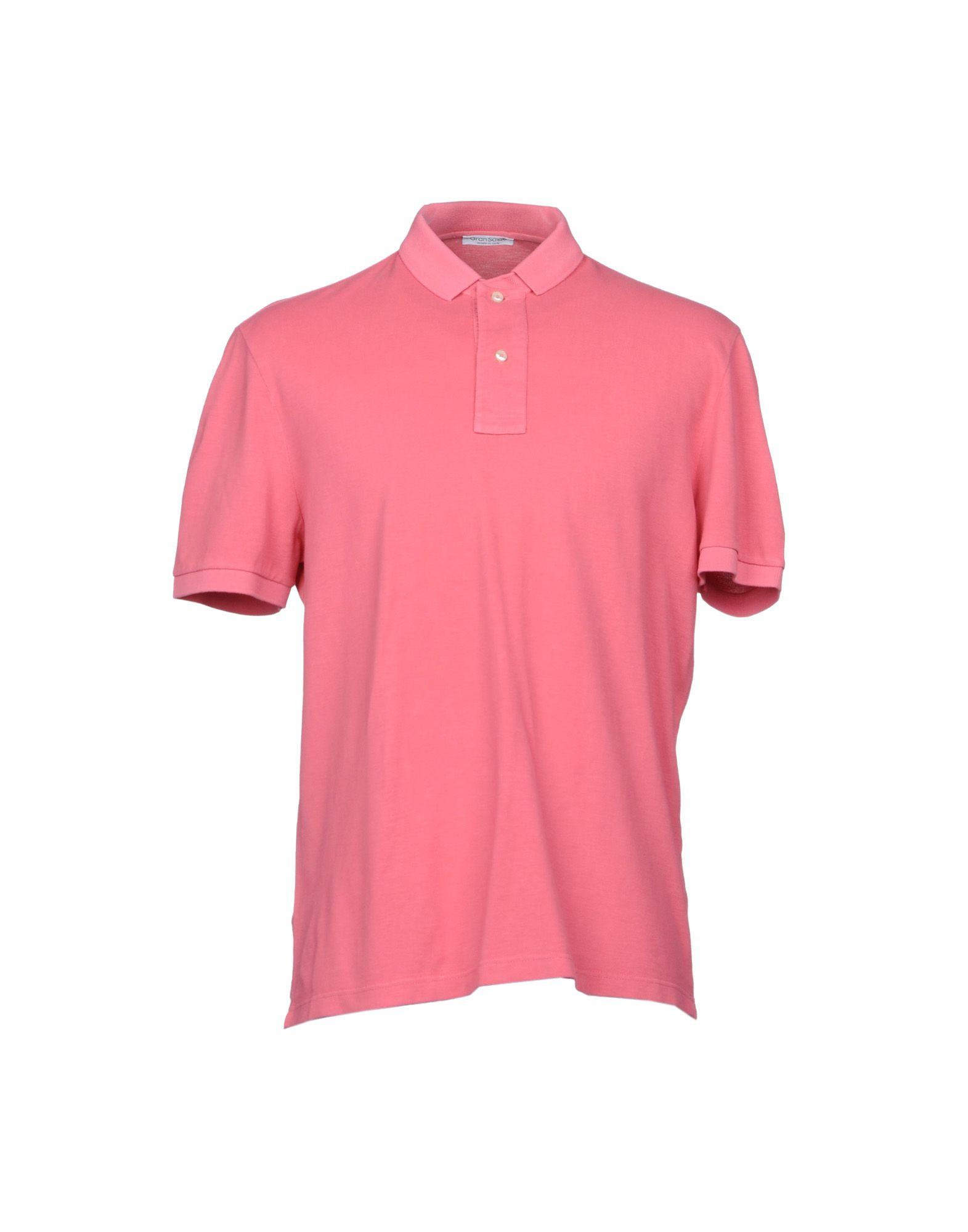 GRAN SASSO Herren Poloshirt Farbe Fuchsia Größe 5 jetztbilligerkaufen