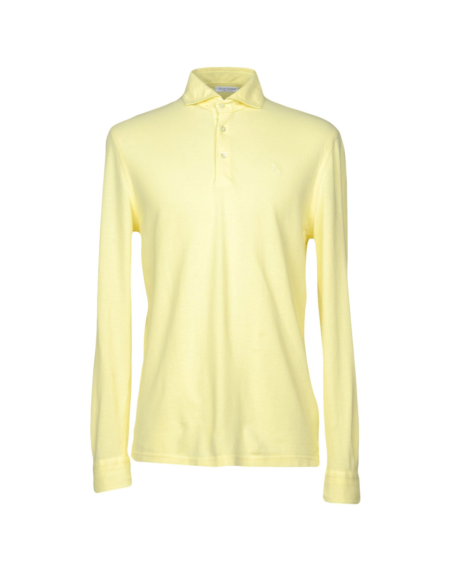 GRAN SASSO Herren Poloshirt Farbe Gelb Größe 7 jetztbilligerkaufen
