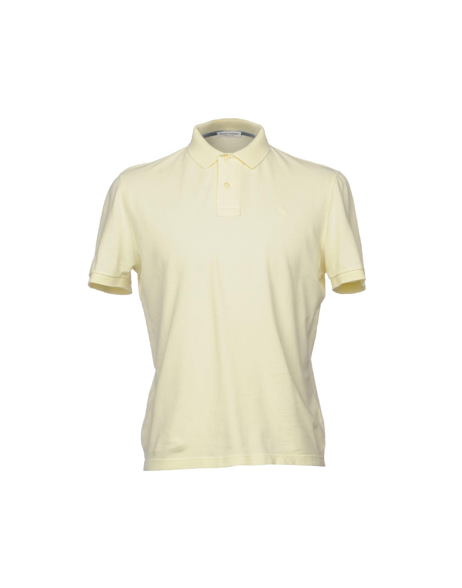 GRAN SASSO Herren Poloshirt Farbe Hellgelb Größe 8 jetztbilligerkaufen