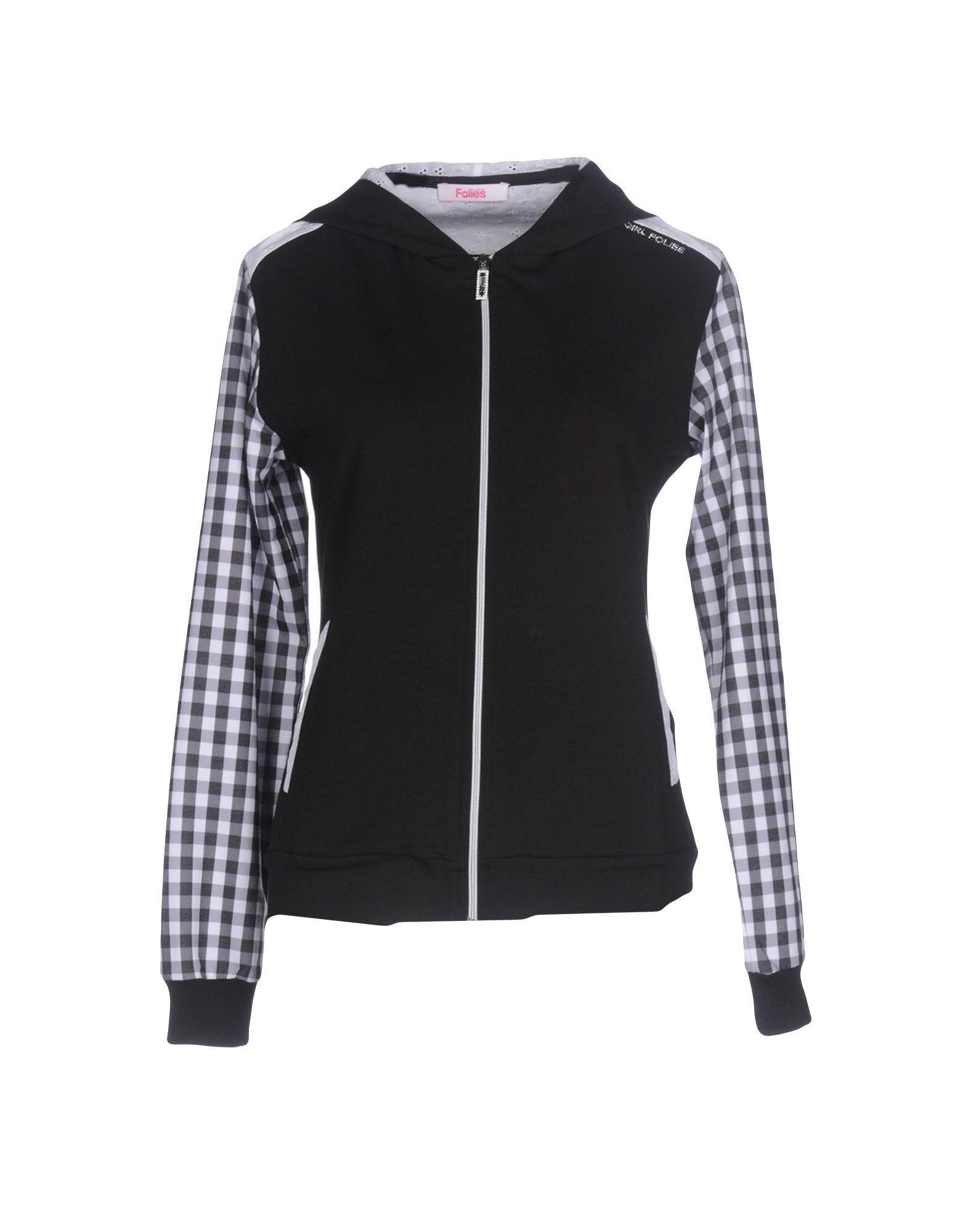 BLUGIRL FOLIES Damen Sweatshirt Farbe Schwarz Größe 7 jetztbilligerkaufen